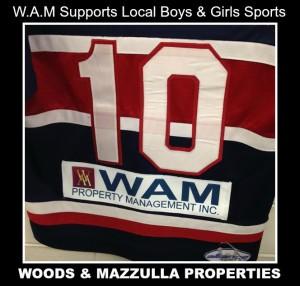 WAM sports donation