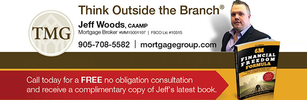 Think Outside the Branh - Jeff Woods, CAAMP Mortgage broker. Call today for a free no obligation consultation and receive a complimentary copy of Jeff's latest book